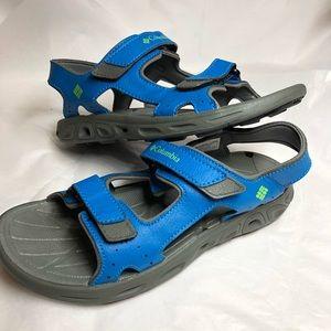 Columbia Boys Blue Sandals Size 3